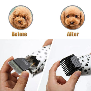 Vacuum Pet Hair Clipper