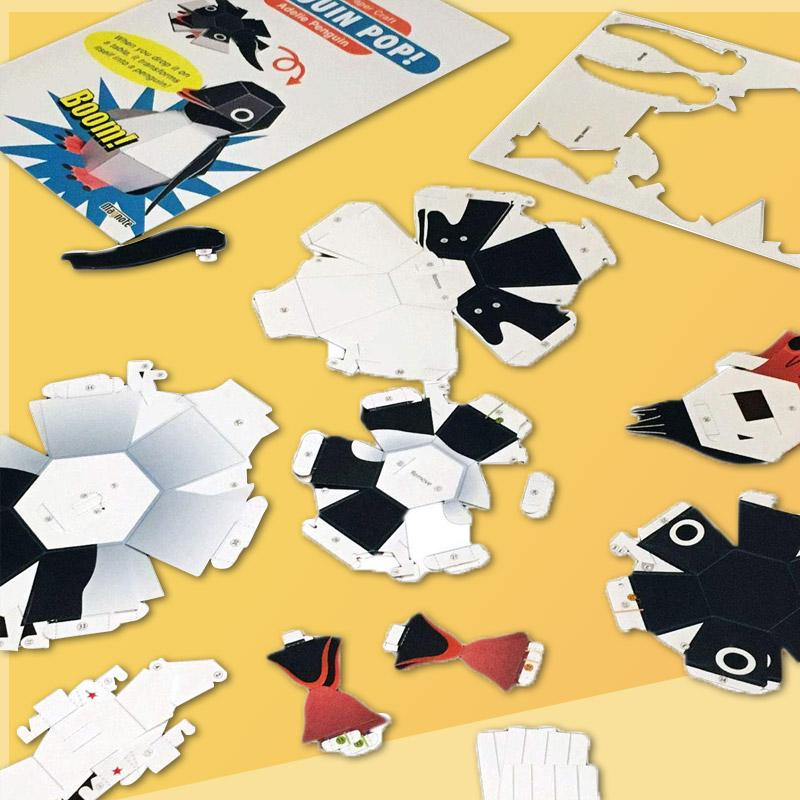 【50% OFF】Action Paper Craft Kit By Haruki Nakamura