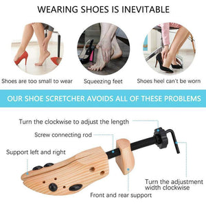 Wooden Shoe Stretcher (Limited Time Promotion-50% OFF)
