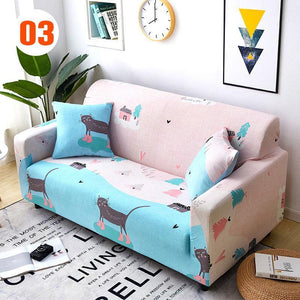 REVERSIBLE MICROFIBER SOFA COVER CHAIR THROW PET DOG KIDS FURNITURE PROTECTOR