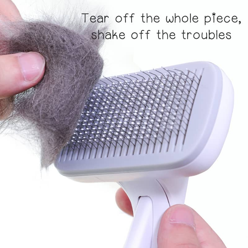 (Please caring for your baby)Pet hair massage comb