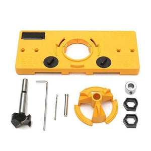 35mm Hinge Drilling Jig Woodworking Tool Set