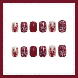Christmas Nail Patch(24PCS)Christmas Limited Time Discount