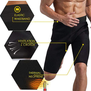 Bodybuilding Slim Men's Sauna Shorts
