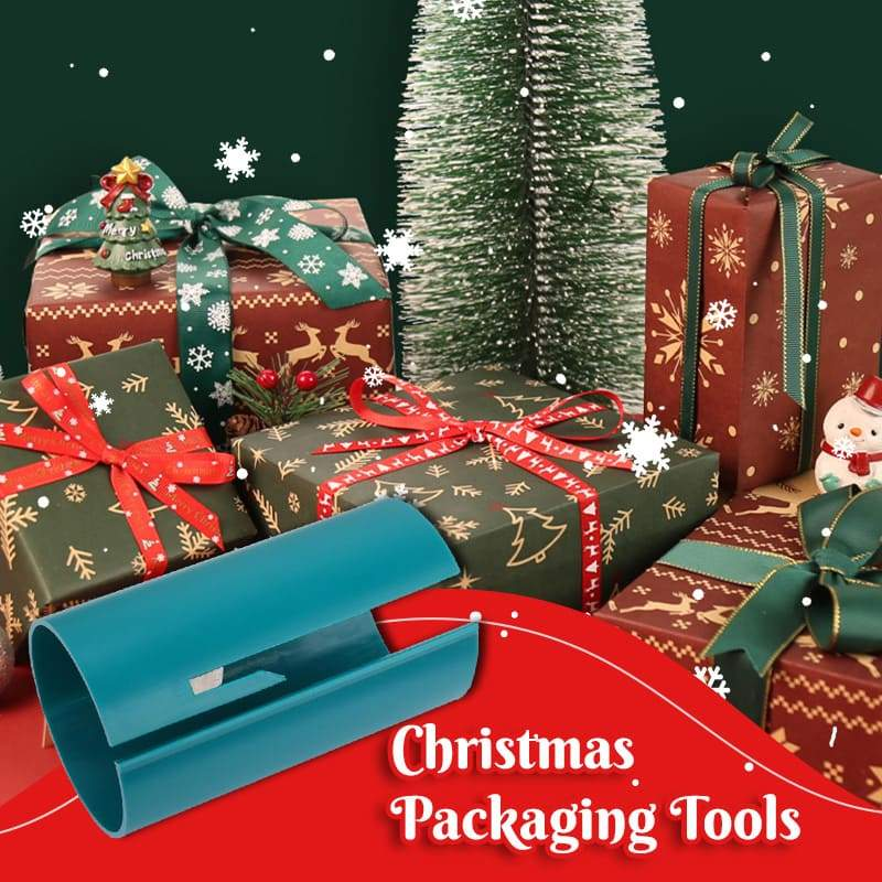 Christmas Gift Wrapping Paper Cutter