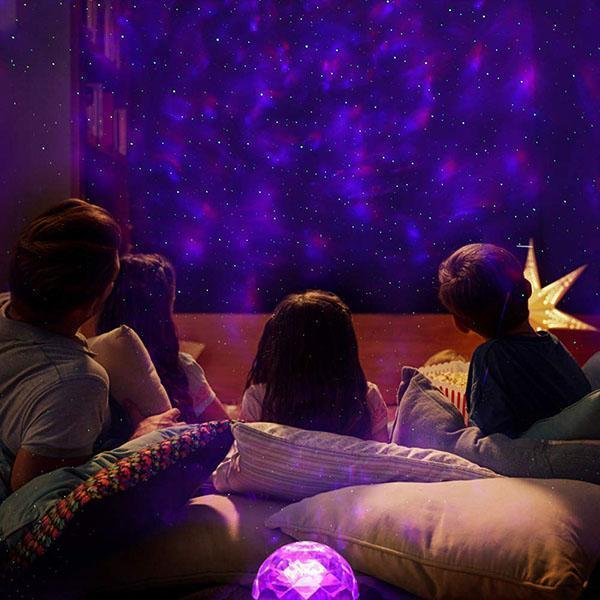 Romantic Fantasy Sky Night Light Cosmic Star Projector Laser Constella