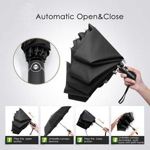 Automatic Business Reverse Umbrella