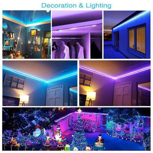 (Christmas Sale 50% OFF)USB RGB Colored Rope Light Strip Kit