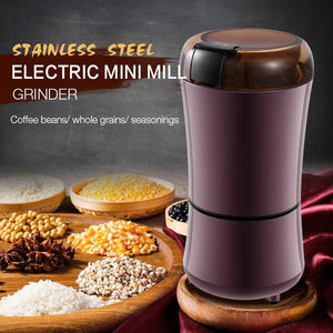 Stainless Steel Electric Mini Mill Grinder