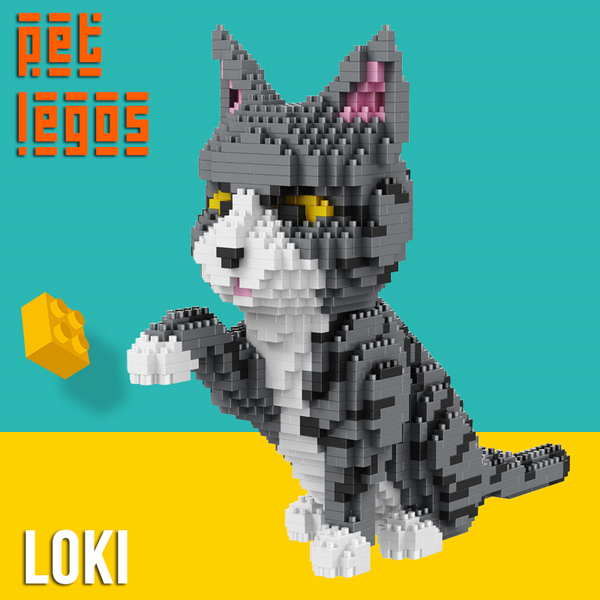 Loki the Cat - PetLegos