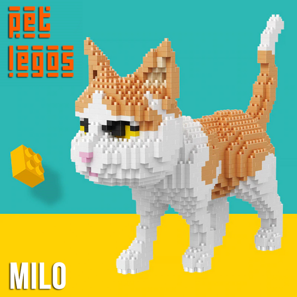 Milo the Cat - PetLegos