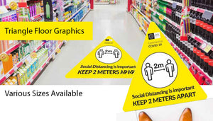 Triangle Anti Slip Floor Stickers