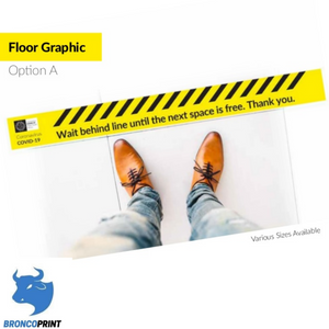 Floor Stickers (Option A)