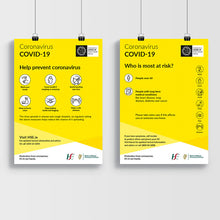 Load image into Gallery viewer, Covid-19 Information Indoor Posters