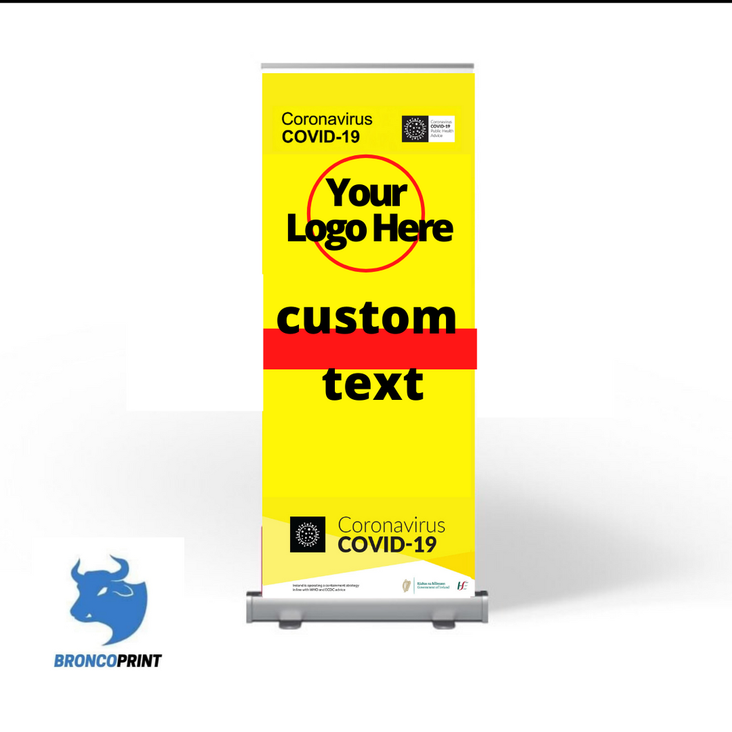 Customized Pull Up Banner