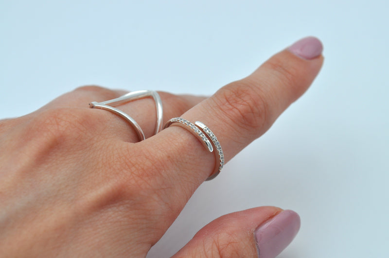 RING GLORIA | 925 Sterling Silber