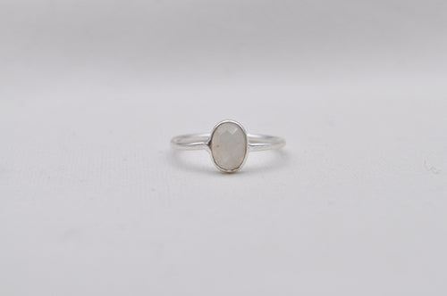MONDSTEIN RING oval | Sterling Silber