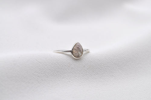 LABRADORIT RING | Sterling Silber