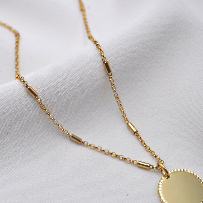 KATE VINTAGE CHAIN | FAMILY CHAIN | Sterling Silber Gold plattiert