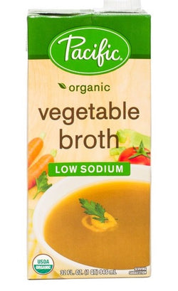 Vegetable Broth 32oz Organic Pacific Brand