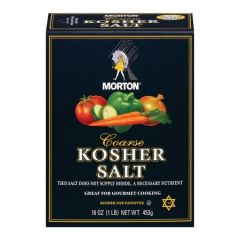 Salt 3lb Kosher Coarse Morton