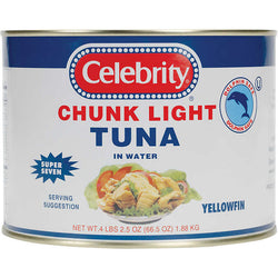 Tuna Yellowfin 66.5oz Can Celebrity
