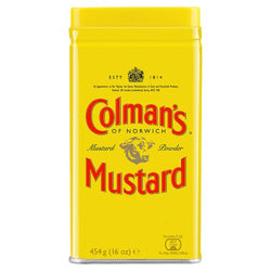 Colman's Mustard Powder 16oz (1lb)