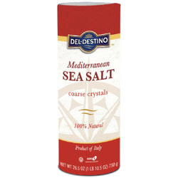 Del Destino Mediterranean Sea Salt 100% Natural 10.5oz (1LB)
