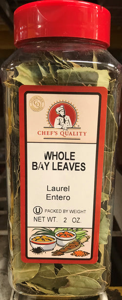 Whole Bay Leaves Chef's Quality 2oz