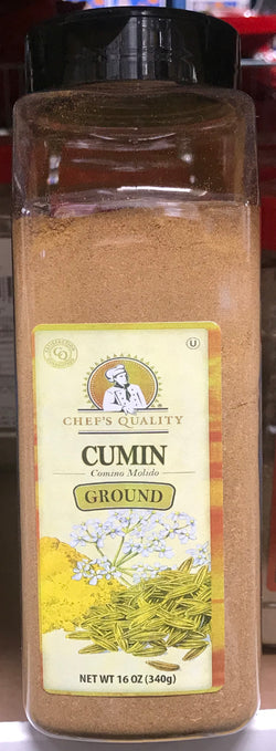 Chef's Quality Ground Cumin 16oz (1lb)