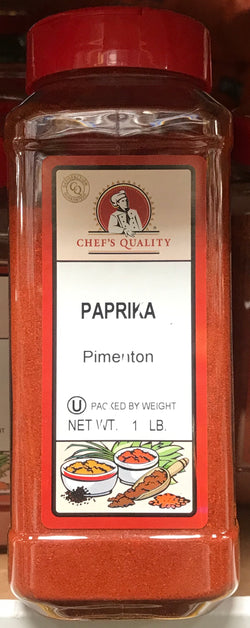 Chef's Quality Paprika 1lb