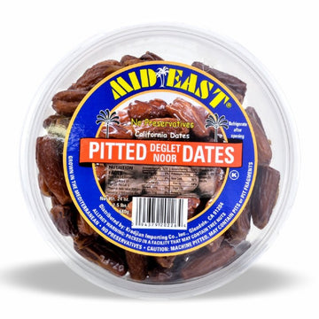Mid East Pitted Dates 32oz