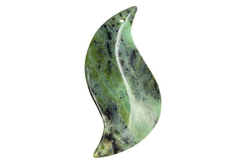 Pendant Green Zebra S Shaped Leaf
