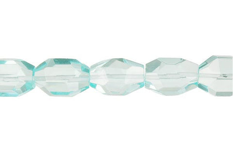 Aqua Quartz Super Faceted Nugget