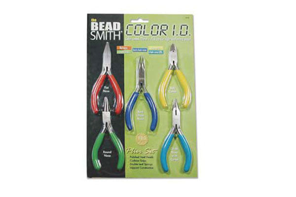 Economic Jewelers Tool Kit, 5PC Pliers