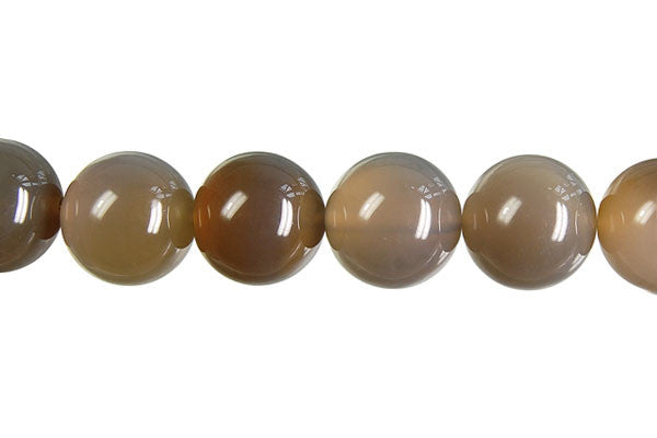 Black Onyx Round (Transparent) Beads
