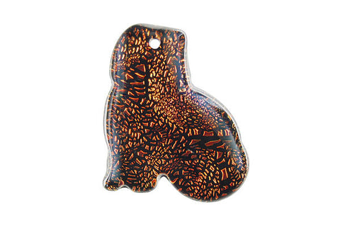 Pendant Dichroic Glass Cat (VR-18)