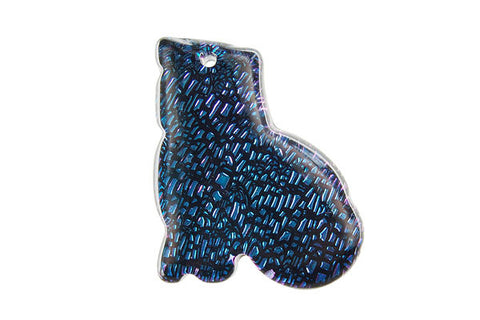Pendant Dichroic Glass Cat (VR-20)