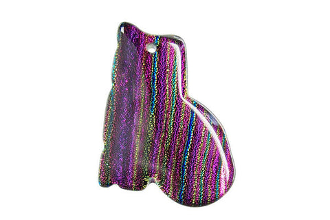 Pendant Dichroic Glass Cat (VR-30)