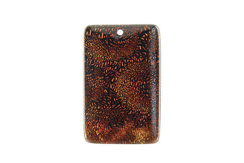 Pendant Dichroic Glass Rectangle (VR-07)