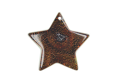 Pendant Dichroic Glass Star (VR-07)