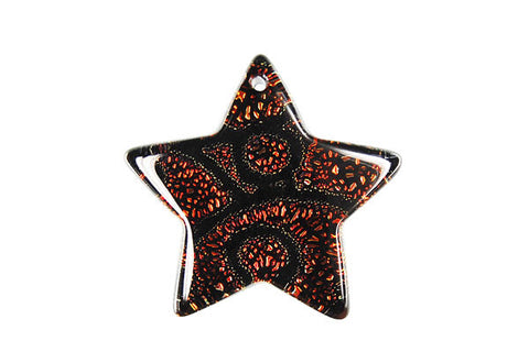 Pendant Dichroic Glass Star (VR-12)