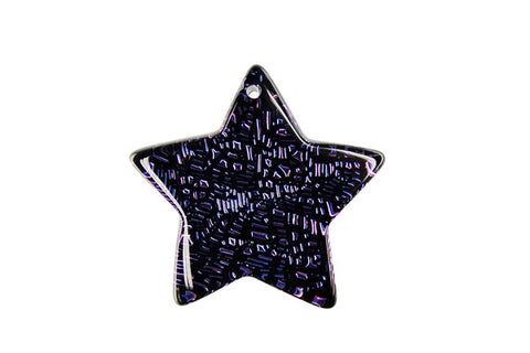 Pendant Dichroic Glass Star (VR-20)