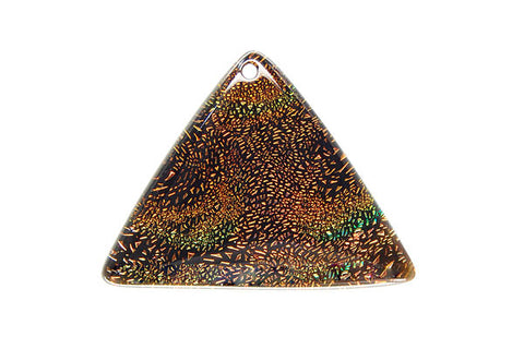 Pendant Dichroic Glass Triangle (VR-07)