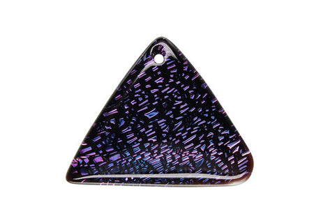Pendant Dichroic Glass Triangle (VR-20)