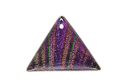 Pendant Dichroic Glass Triangle (VR-30)