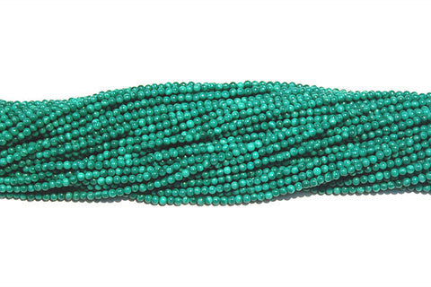 Malachite (Synthetic) Round Beads