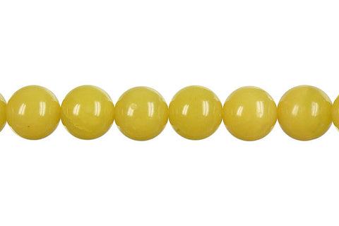 Olive Jade (Light) Round (Dark) Beads