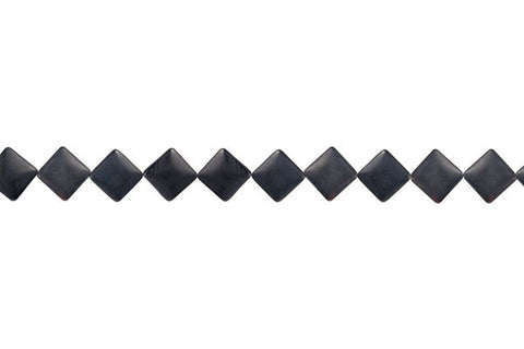 Matte Onyx Diamond Square Beads