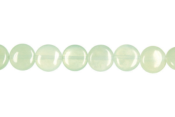 New Jade Coin (Light) Beads